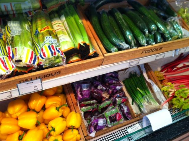 Colourful Fresh, Organic Veggies from Fodder, Harrogate
