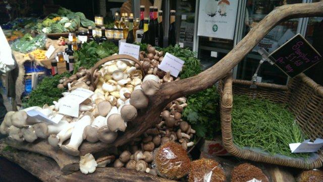 More mushrooms