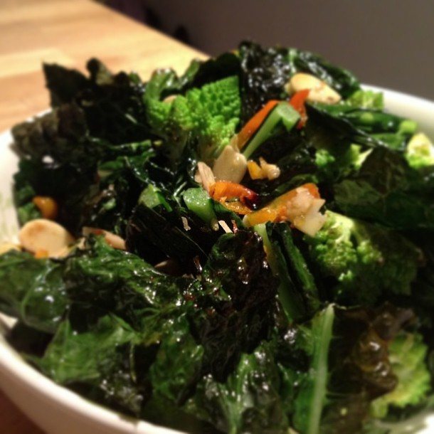 Snack on Kale Crisps