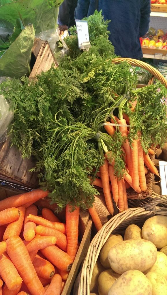 Delicious carrots!