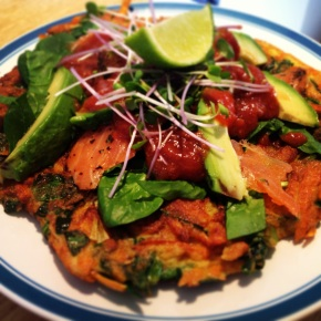 Paleo Breakfast: Sweet Potato Pancakes