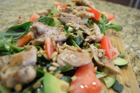 Californian Chicken Salad- Paleo Style!