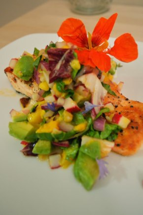 Paleo Salmon with Mango Salsa